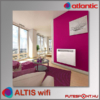 Atlantic Altis EcoBoost wifi fűtőpanel  beltérben