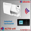 Atlantic Altis wifi fűtőpanel  termosztát