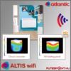 Atlantic Altis wifi  fűtőpanel  HD paneles felépítés