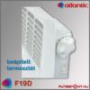 Atlantic F19D mobil fűtőpanel mechanikus termosztát