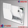Atlantic F125D fűtőpanel  belső szerkezet, konvekciós fűtőbetét