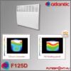 Atlantic F125D fűtőpanel  HD paneles felépítés