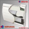 Atlantic Nirvana radiátor belső felépítés, infrafűtés