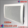 Atlantic Solius LCD fűtőpanel 1500W