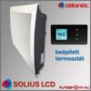 Atlantic Solius LCD fűtőpanel termosztát