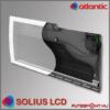 Atlantic Solius LCD fűtőpanel belső felépítés, infrafűtés
