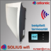 Atlantic Solius Wifi fűtőpanel termosztát