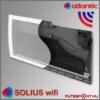 Atlantic Solius Wifi fűtőpanel belső felépítés, infrafűtés