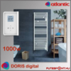 Atlantic Doris Digital törölközőszárító radiátor 1000W