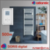 Atlantic Doris Digital törölközőszárító radiátor 500W