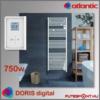 Atlantic Doris Digital törölközőszárító radiátor 750W