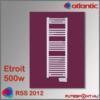 Atlantic Rss 2012 Etroit  törölközőszárító radiátor 500W