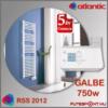Atlantic Rss 2012 GALBE törölközőszárító radiátor 750W