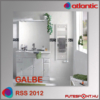 Atlantic RSS 2012 GALBE törölközőszárító radiátor 5 év garancia