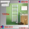 Atlantic Rss 2012 törölközőszárító radiátor 1000W