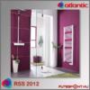 Atlantic RSS 2012 törölközőszárító normál termosztáttal