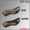 BVF SX 28, kültéri fűtőkábel greslap és aszfaltburkolat alá