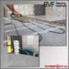 BVF H-MAT elektromos  fűtőszőnyeg fektetése