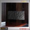 Climastar Smart touch hőtárolós fűtőpanel, kerámia előlap, fekete pala