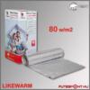 Likewarm alu fűtőszőnyeg 80W/m2