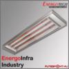 Energotech Energoinfra Industry EIR infra sugárzó, svéd ipari fűtés