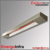 Energotech Energoinfra EIR infra sugárzó, svéd ipari fűtés