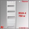 Thermor Riva4 törölközőszárító radiátor 750W