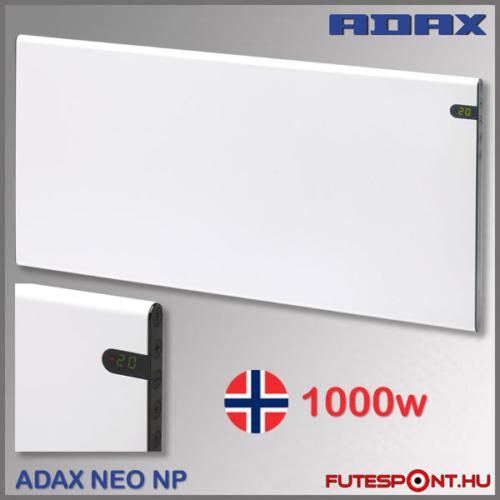 Adax Neo NP10 1000W norvég fűtőpanel