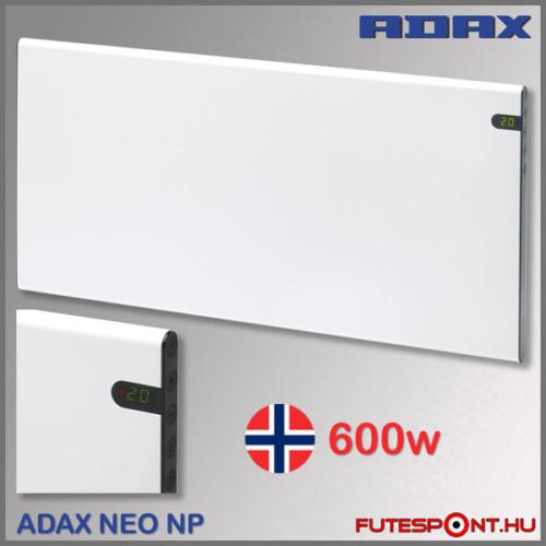 Adax Neo NP06 600W norvég fűtőpanel