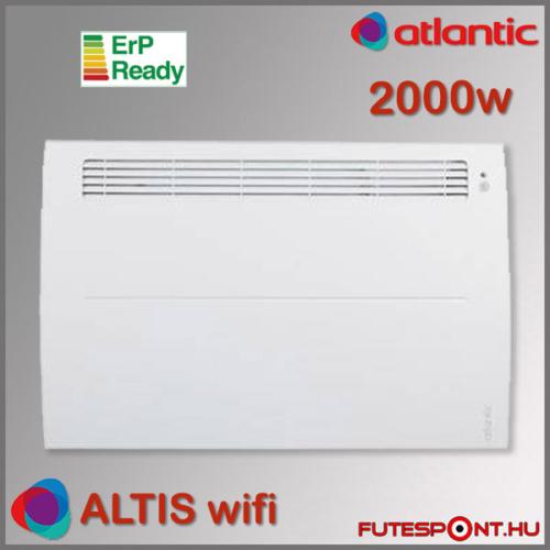 Atlantic Altis Ecoboost Wifi fűtőpanel 2000W