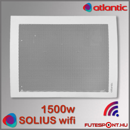 Atlantic Solius Wifi fűtőpanel 1500W