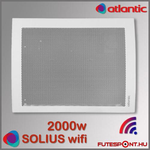 Atlantic Solius Wifi fűtőpanel 2000W
