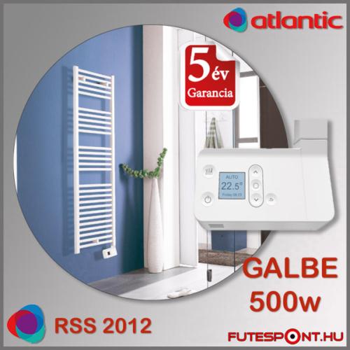 Atlantic Rss 2012 GALBE törölközőszárító radiátor 500W