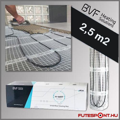 BVF H-MAT elektromos fűtőszőnyeg 2,5m2