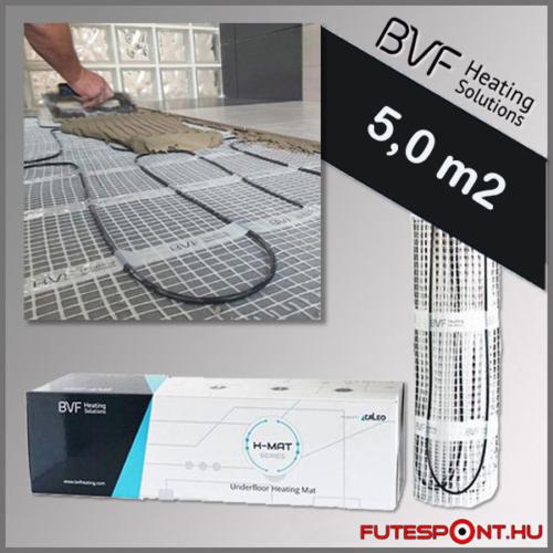 BVF H-MAT elektromos fűtőszőnyeg 5,0m2