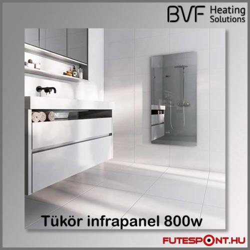 Bvf PG 800W tükör infrapanel