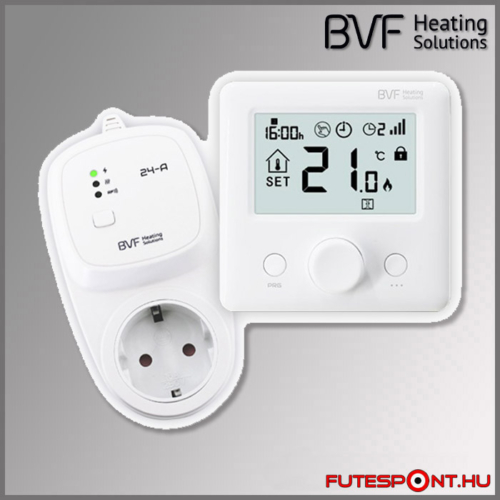 BVF 24-FA-RF termosztátos dugalj