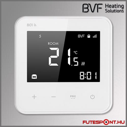 BVF 801 wifi duplaszenzoros termosztát