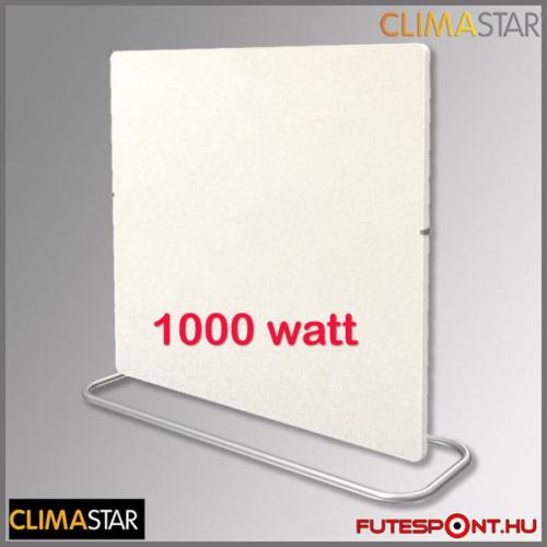 Climastar Smart PRO 3in1 fehér mészkő (kasmír) 1000W kerámia fűtőpanel