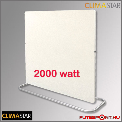 Climastar Smart PRO 3in1 fehér mészkő (kasmír) 2000W kerámia fűtőpanel