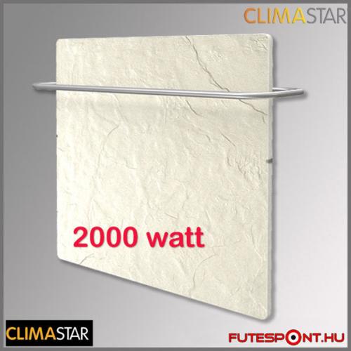 Climastar Smart PRO 3in1 fehér pala 2000W kerámia fűtőpanel