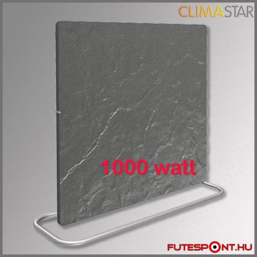 Climastar Smart PRO 3in1 fekete pala 1000W kerámia fűtőpanel