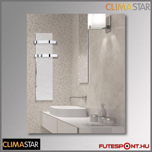 climastar SLIM kerámia törölközőszárító 500W - fehér pala