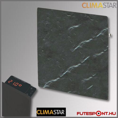 climastar smart touch hőtárolós fűtőpanel, kerámia,1000w, fekete pala