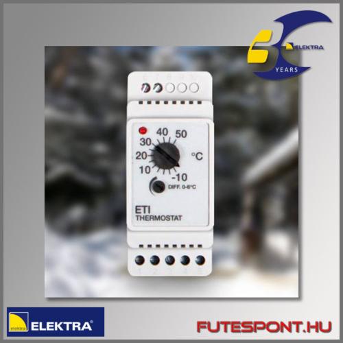Elektra BVF ETI-1551 termosztát csőkísérő fűtés