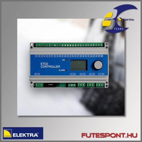 Elektra BVF ETO2-4550 termosztát rámpafűtés 2 körös