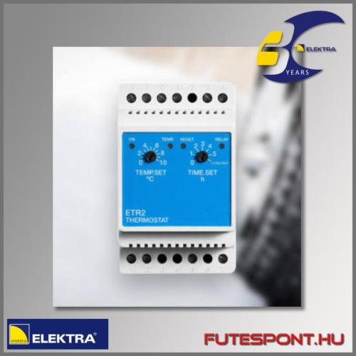 Elektra BVF ETR2-1550 termosztát rámpafűtés