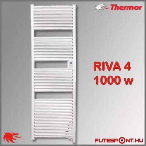 Thermor Riva4 törölközőszárító radiátor 1000W
