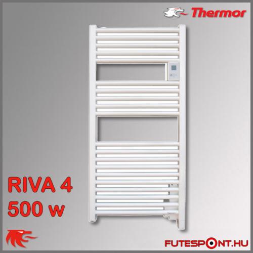 Thermor Riva4 törölközőszárító radiátor 500W